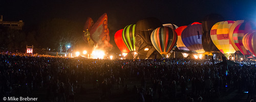 Balloons on show