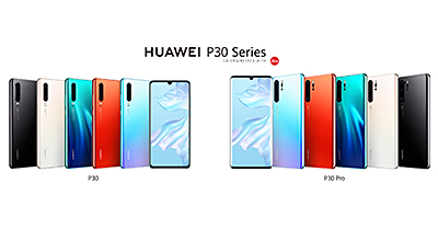 For Singapore, both the Huawei P30 and P30 Pro (256GB) will come in colours of Breathing Crystal, Aurora and Black while the P30 Pro (512GB) will be available in Aurora.