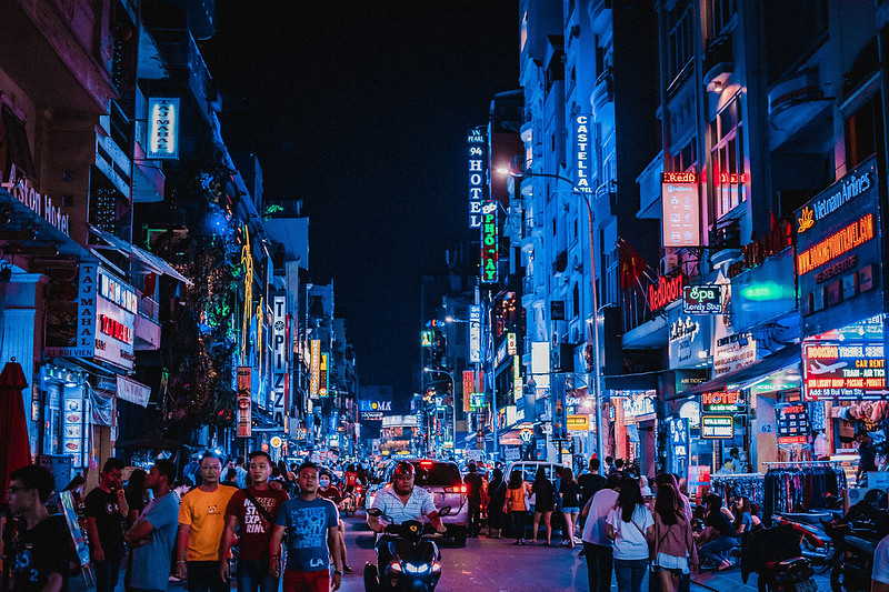 nightlife activities in Ho Chi Minh City