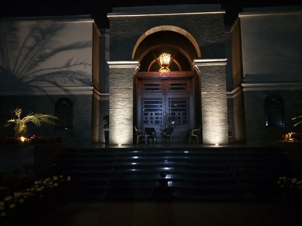 Image of  National History Museum at Night with HDR mode on realme 2 pro