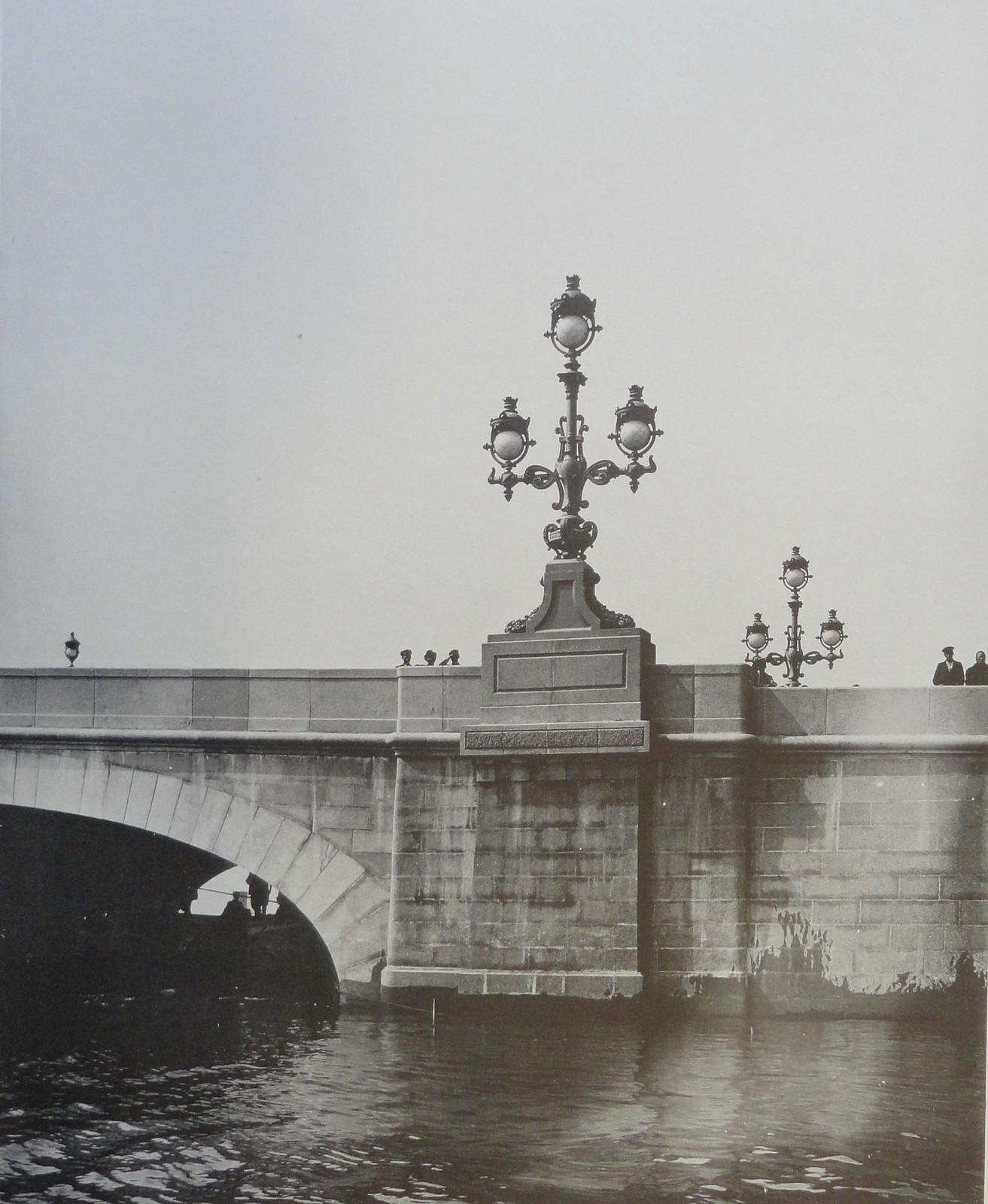 1903. Правый устой дамбы. 15 мая