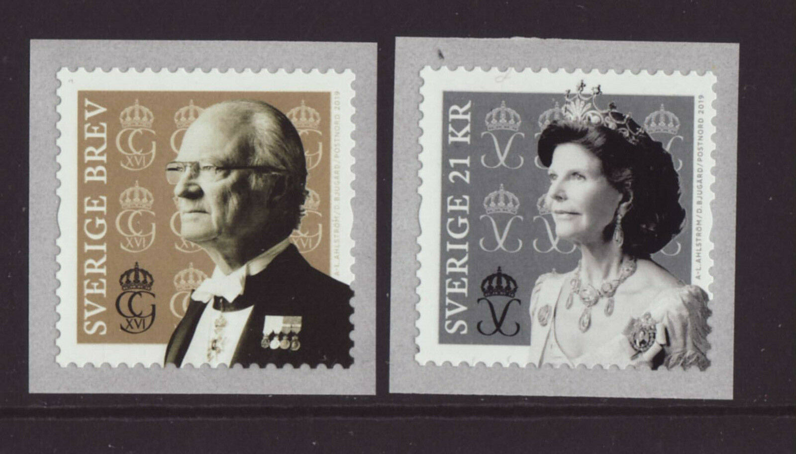 Sweden - King Carl Gustaf and Queen Silvia (January 10, 2019)