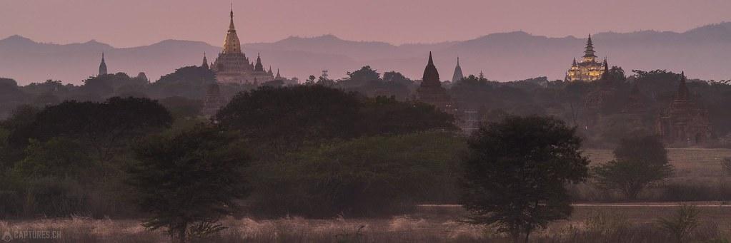 After sunset - Bagan