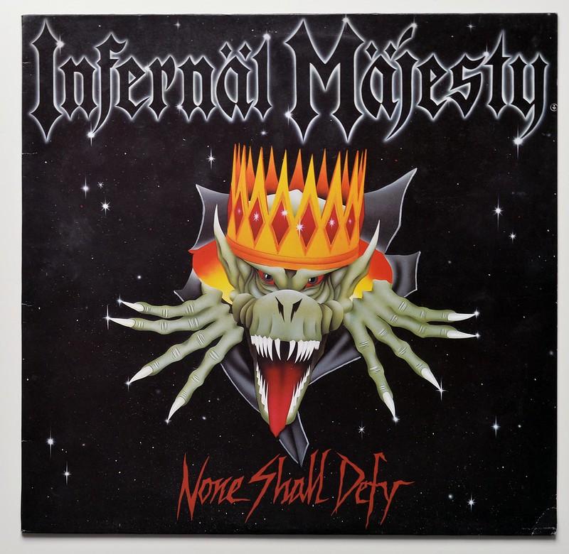 A0585 INFERNAL MAJESTY None Shall Defy