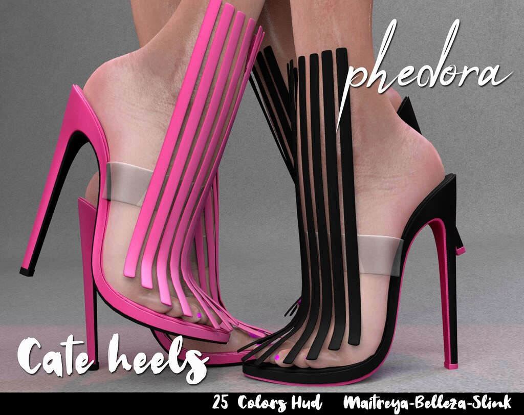 "Phedora for Sultry Event ~ ""Cate"" heels ♥"