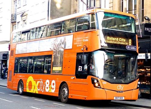 SK17 HHV 'Oxford Bus Company' No. 690 'Oxcity 8&9'. Wright Streetdeck /2 on Dennis Basford's railsroadsrunways.blogspot.co.uk'