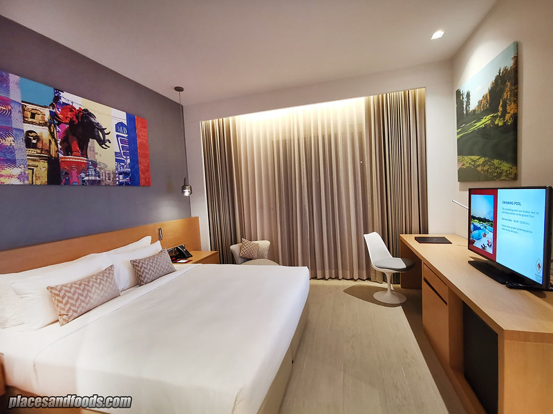 eastin thana city king suite bedroom