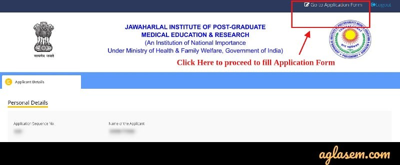 JIPMER 2019 Application Form (Available) - Apply Here for MBBS entrance exam