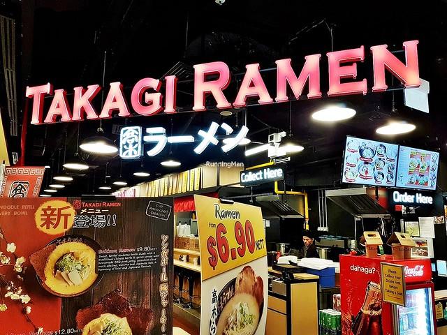 Takagi Ramen Exterior