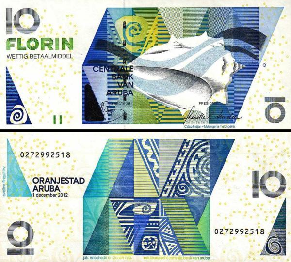 10 Florin Aruba 2012 P16c