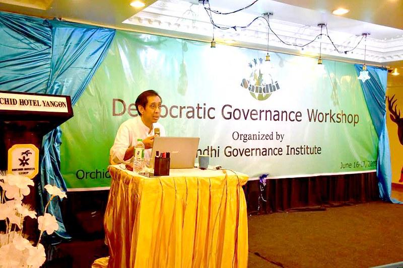 Democratic Governance Workshop at Orchid