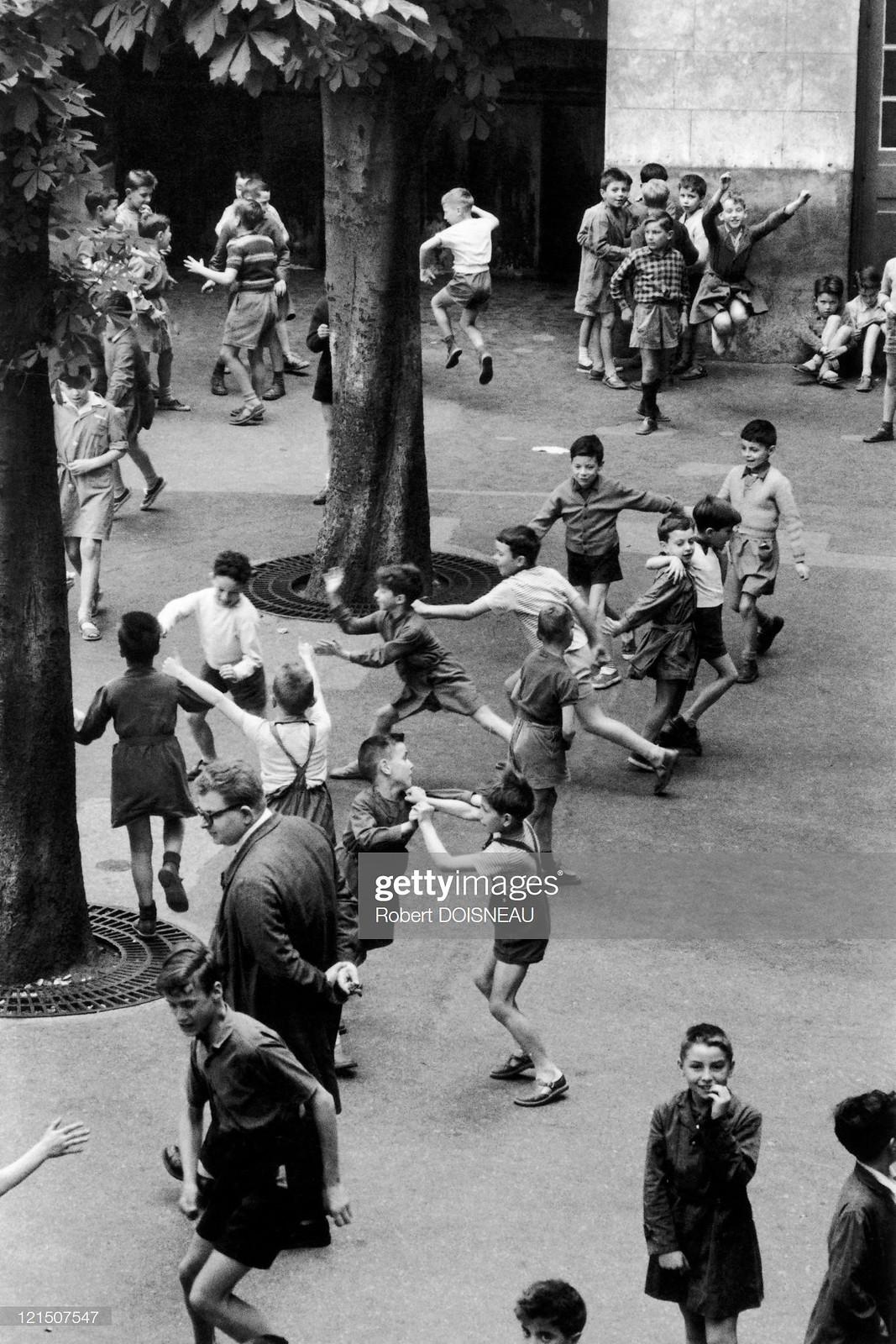 1956. Детская площадка
