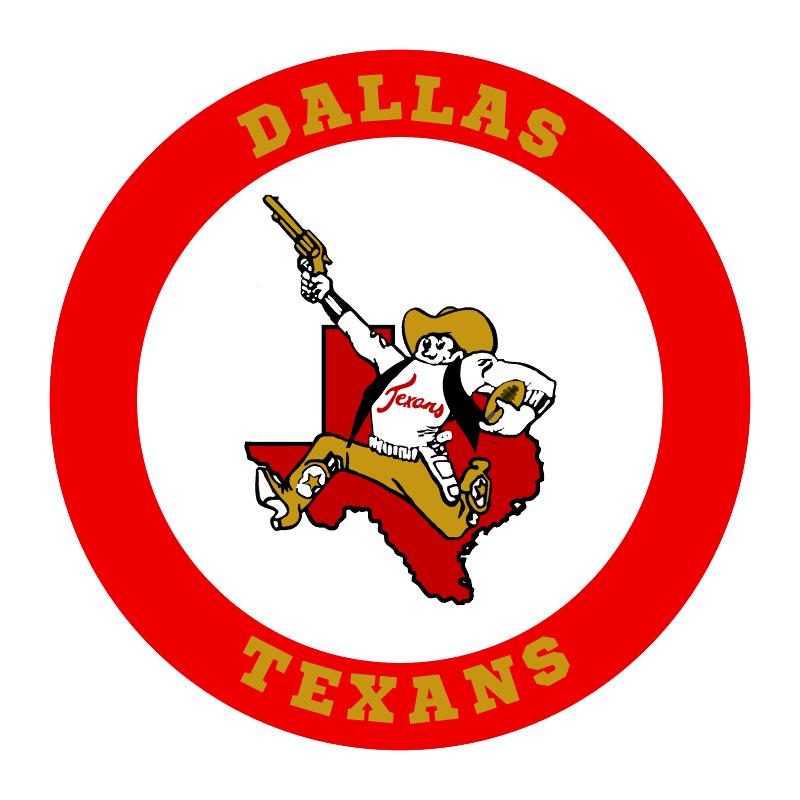 Dallas Texans logo, 1960-1963