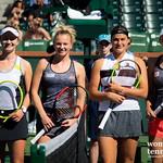 Barbora Krejcikova, Katerina Siniakova, Aryna Sabalenka, Elise Mertens