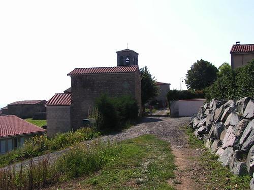20080831 28698 1001 Jakobus St Thomas Garde Häuser Kirche Turm ElisabethB Pilger
