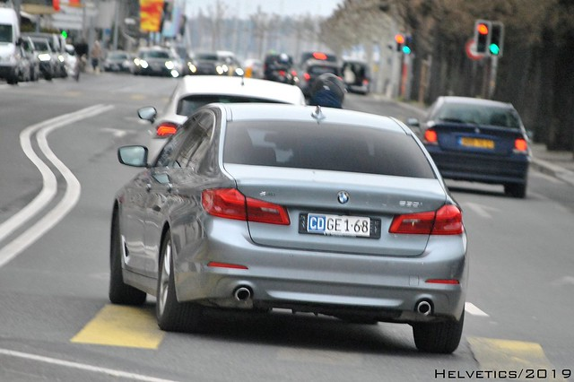 BMW 5-Series - Switzerland, Nikon D3000, AF-S DX VR Zoom-Nikkor 55-200mm f/4-5.6G IF-ED