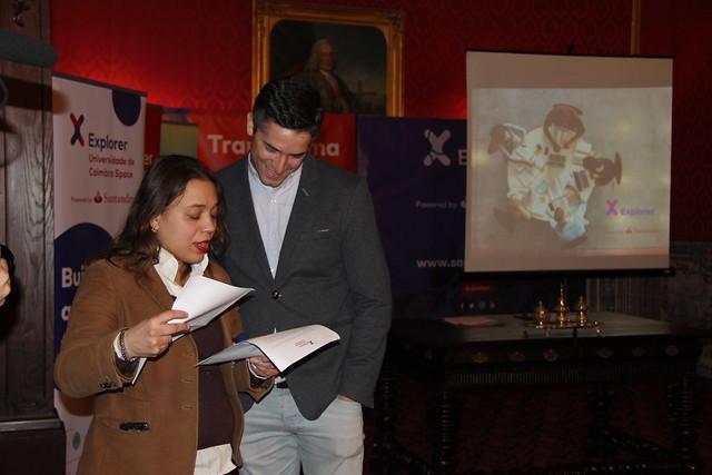 Cerimónia de apresentação dos novos participantes e mentores do Programa Explorer