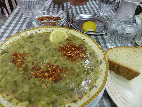 la soupe de tripes