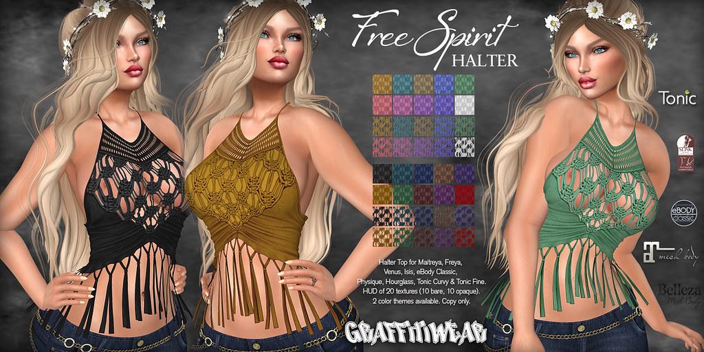 Free Spirit Halter Ad