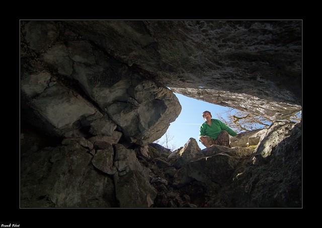 Grotte des rochers du Mont Poupet - St Thiebaud - Jura (inedit)