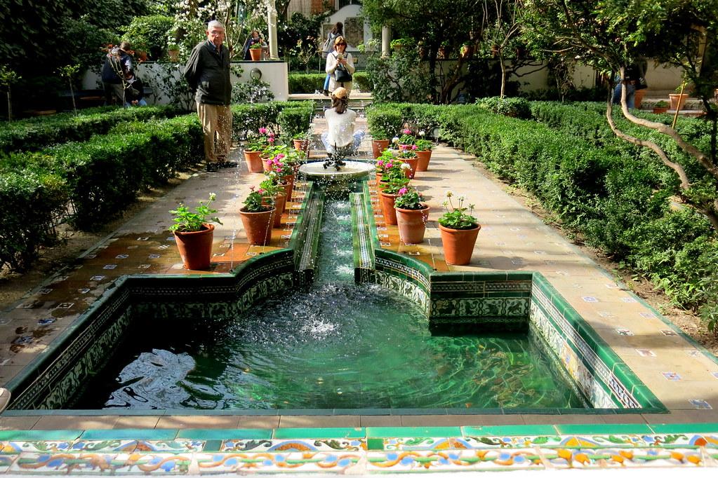 Jardines de la Casa Museo de Sorolla en Madrid
