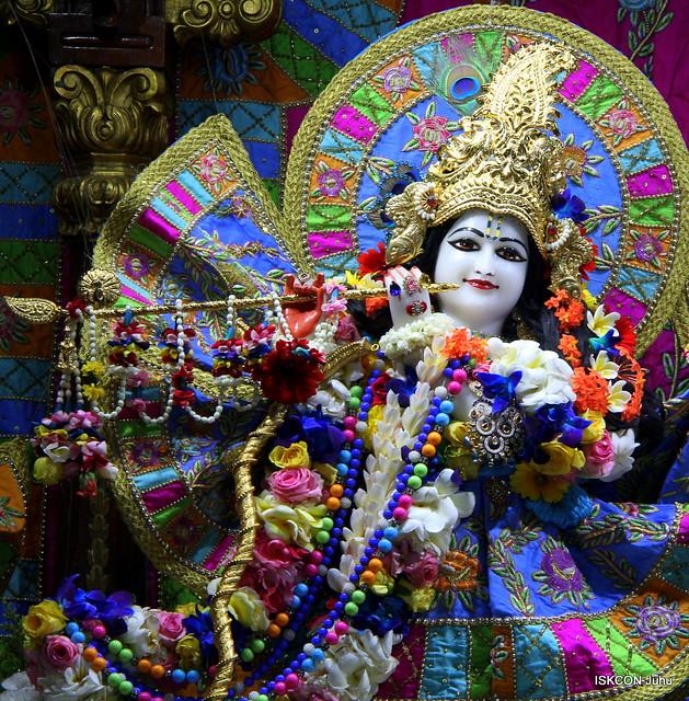 ISKCON Juhu Sringar Deity Darshan on 25th Mar 2019