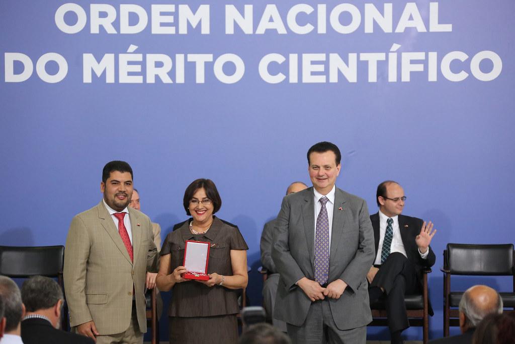 17/10/2018. Brasília-DF. Agraciados durante a cerimônia de outorga da Ordem Nacional do Mérito Científico e Tecnológico, realizada no Palácio do Planalto. Foto: Bruno Peres/MCTIC.