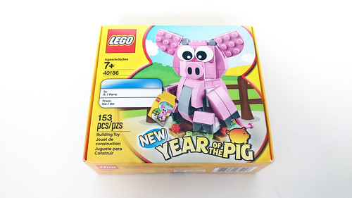 LEGO Seasonal Year of the Pig (40186)