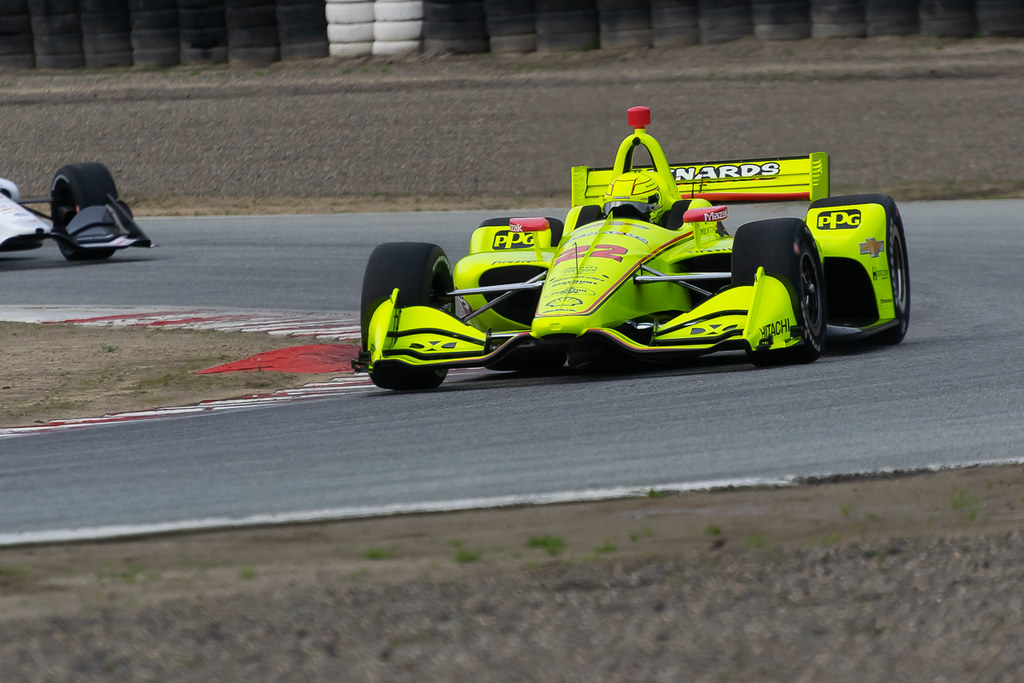 Indycar Test - Laguna Seca