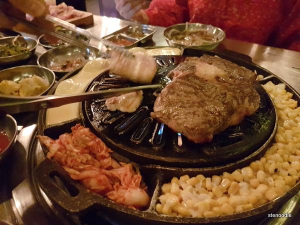 Daldongnae Korean BBQ grill