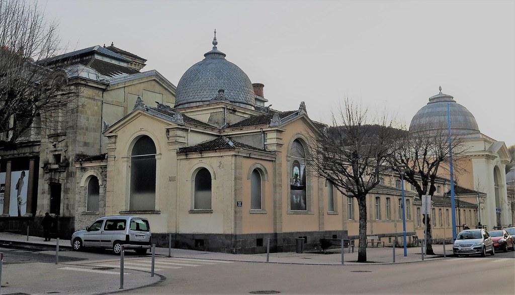 La Bourboule Les Grands Thermes Construction 1876 177 Ar Flickr