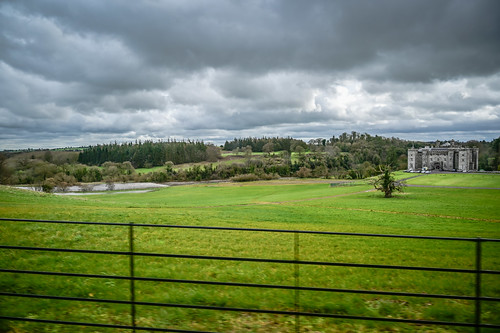 Slane Castle and annual Rock Festival grounds - County Meath Ireland