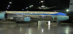 Boeing VC-137C 'Air Force One', National Museum of the US Air Force, Dayton, Ohio, USA.