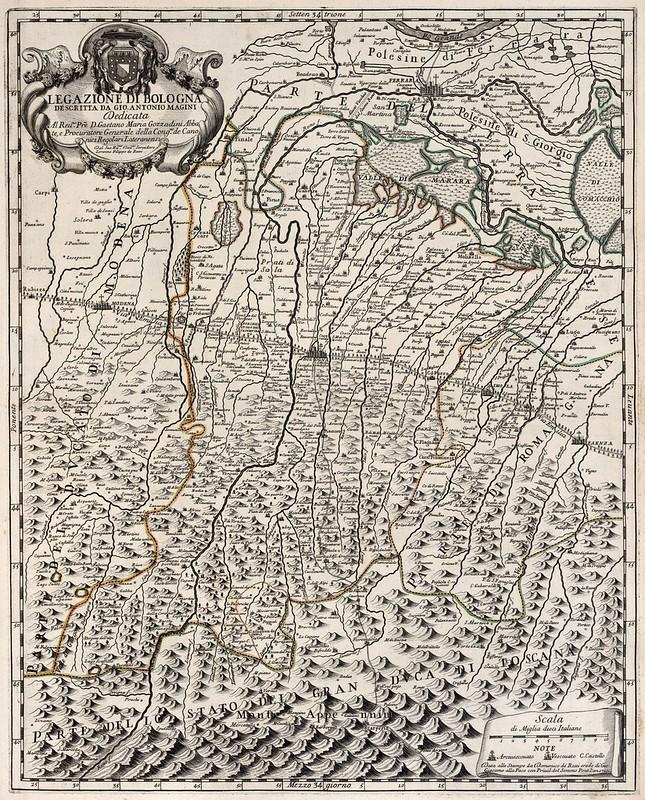 Domenico de Rossi - Legazione di Bologna (1710)