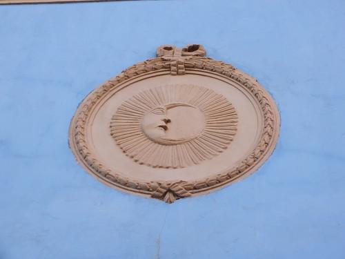 Palacio de Don Diego - Medallón de la luna