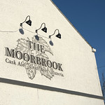 The Moorbrook pub sign, Preston