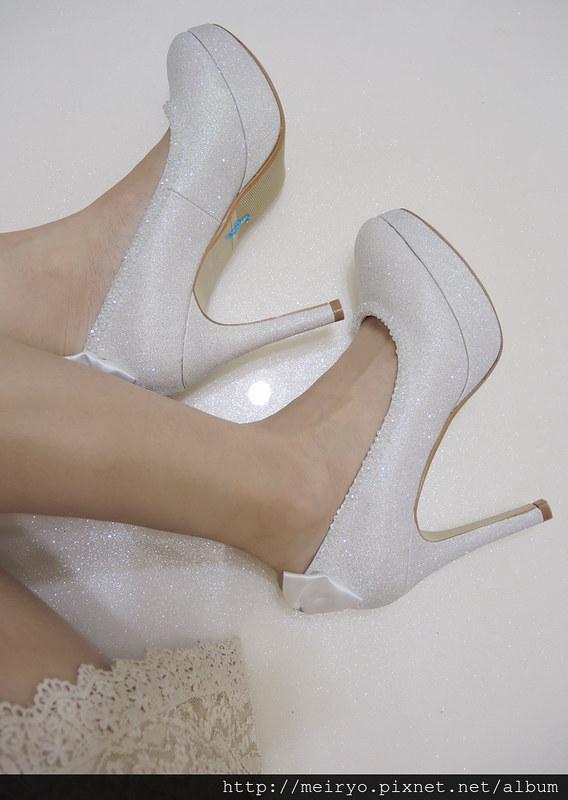 貼鑽高跟鞋
