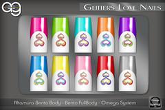 ::AG:: Glitters Love Nails Applier (ALTAMURA & OMEGA)