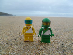 Futuron Pilots on the seaside.