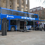 Skiddle bus tour starts today on Preston Flag Market with live music