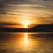 Sunset over the Kavacite dam