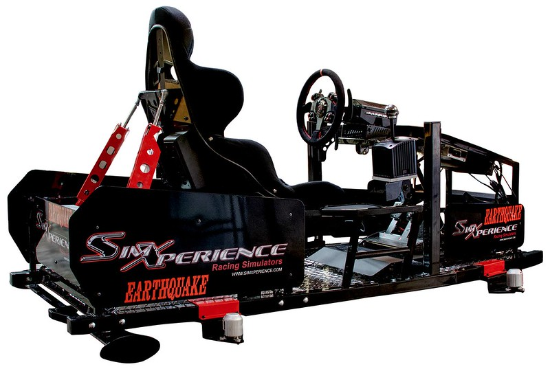 SimXperience Stage 4 Motion Simulator with GS-5 G-Seat