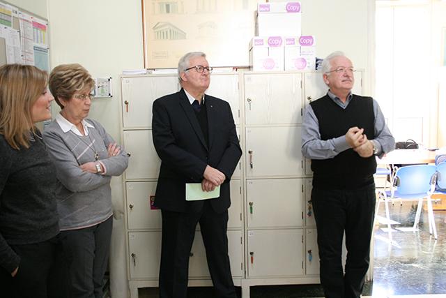 Επίσκεψη του Frère Visiteur Claude Reinhardt στη Σχολή