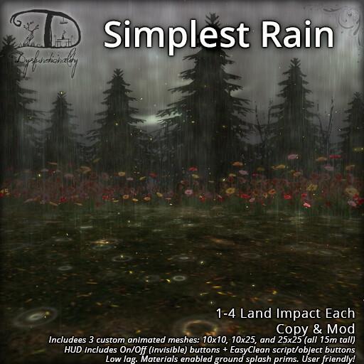 Simplest Rain Set