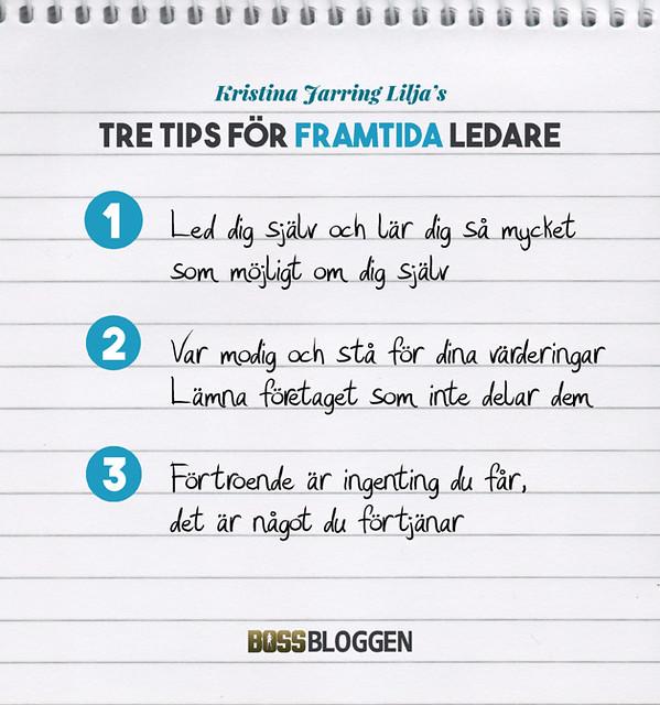 Tre Tips Kristina Jarring Lilja