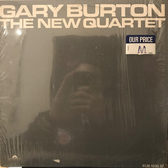 GARY BURTON:THE NEW QUARTET(JACKET A)