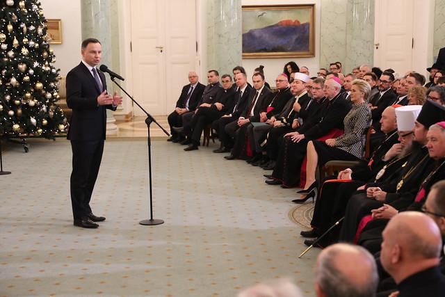 Ekumeniczne spotkanie noworoczne w Pałacu prezydenckim