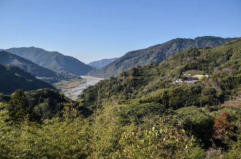 近天狗部落西南俯眺雪山坑、大克等山 2