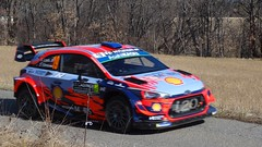 Loeb at Basse Correo Stage on Monte-Carlo Rally