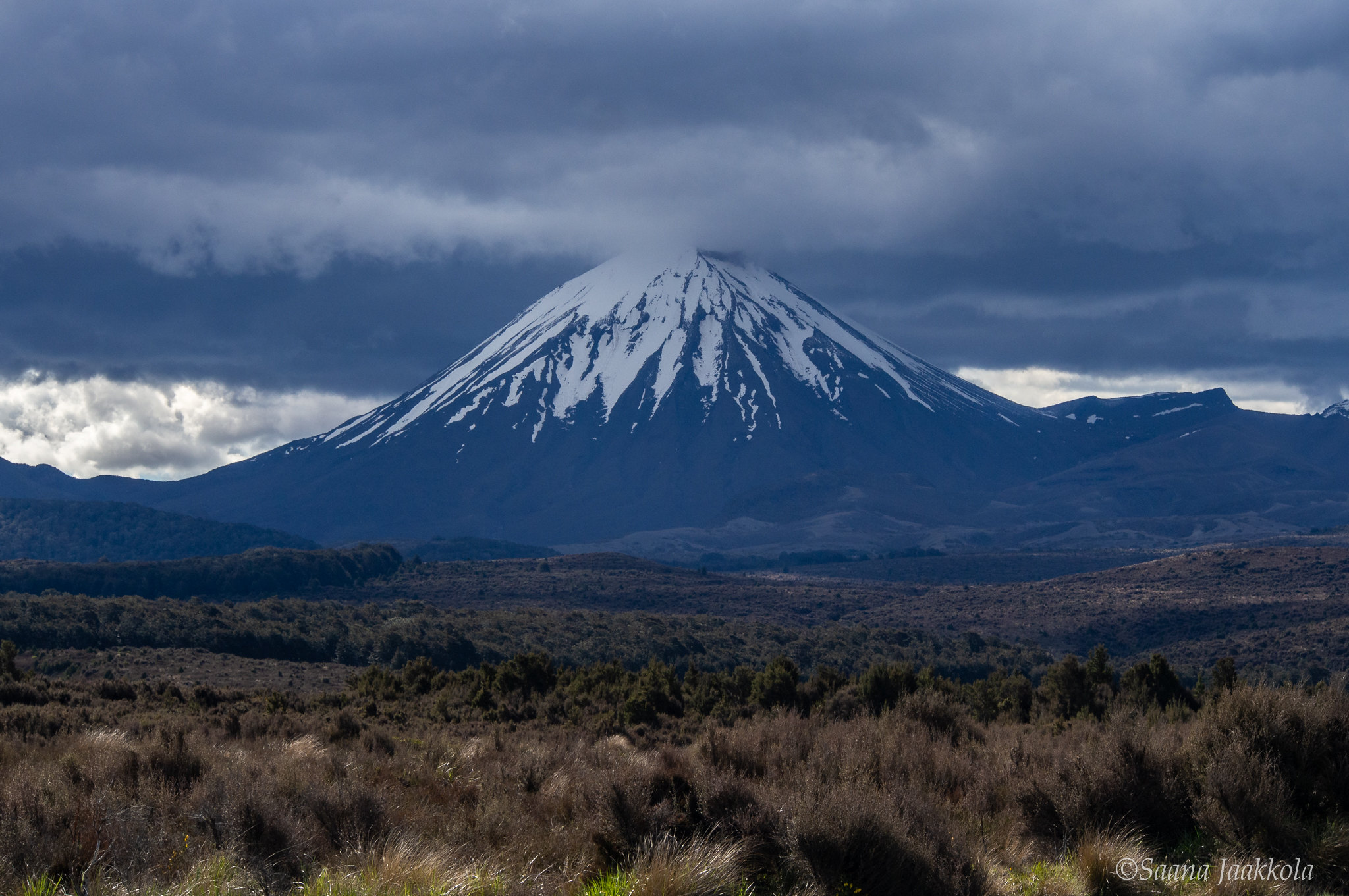 Tongariro National Park is home to New Zealand's most popular day hike, Tongariro Alpine Crossing